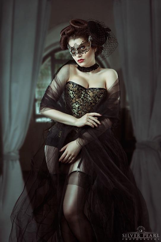 Korsett mysterioes Burlesque