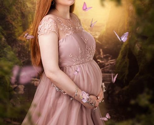 schwangerschaft schwanger Babybauch shooting hamburg maerchen