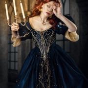 Fotoshooting Schloss Fantasy Koenigin Prinzessin