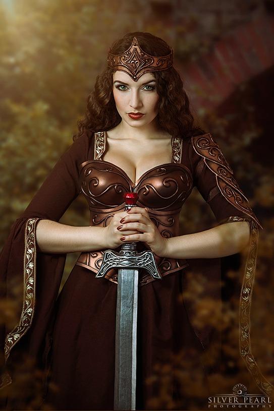 Arwen Xena Cosplay Ruestung Mittelalter Fantasy