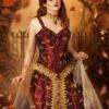 Prinzessin LyrisDesign Mystisch Herbstlaub Fantasy Shooting