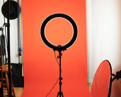 Fotoatelier Studio Shooting Ringlicht Hamburg