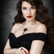 Vintage Gothic Femme Fatale