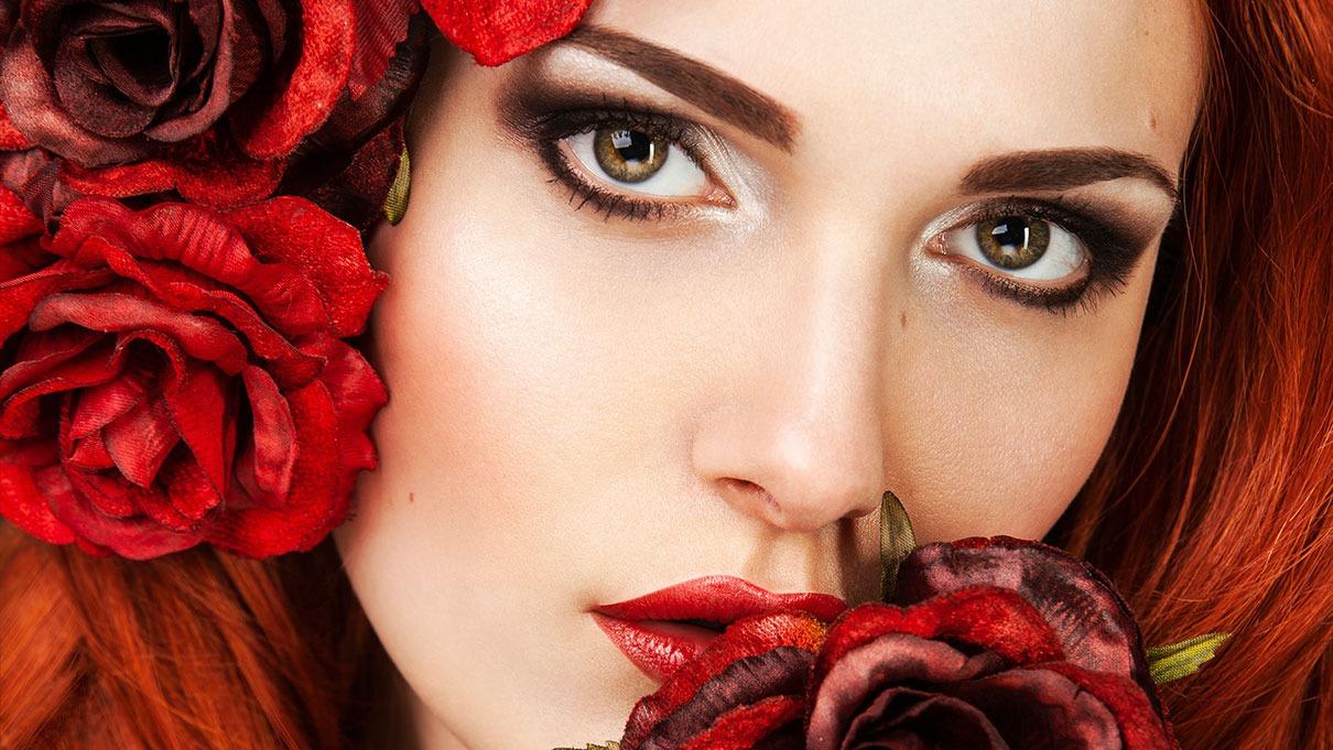 Beauty Portrait Schoenheit Rosen Fotografin
