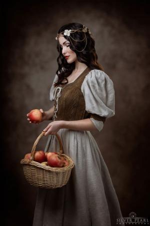 Prinzessin Apfel Märchen Makeover Verwandlung